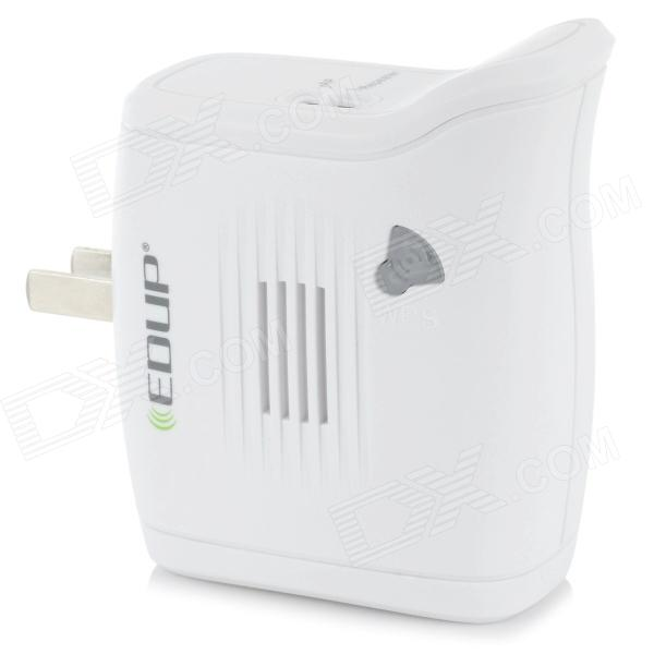 EDUP EP2913 300Mbps Signal Amplifier AP Repeater - White edup ep rt2625 high gain 300mbps wireless router
