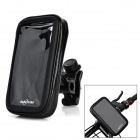 ABS + PVC Motorcycle Mount Holder + Water Resistant Bag for Motorola Moto X - Black