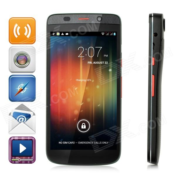 "VVE We8 Quad-Core Android 4.2 GSM WCDMA Projector Smart Phone w/ 5.0"", GPS, Camera - Black"