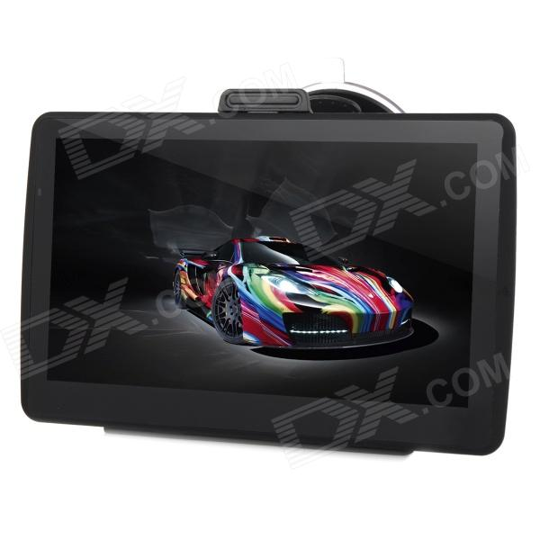 7 Capacitive Screen Win CE 6.0 Car GPS Navigator w/ Multinational Map - Black корпус in win pe689bl 600w black