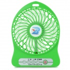 LiShuo LS-F95 Mini Portable USB Powered 4-Blade 3-Mode Fan - Green (1 x 18650)