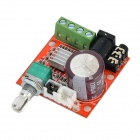 Mini 2 x 10W 2-CH Hi-Fi estéreo PAM8160 Digital Amplifier Board - Laranja + multicoloridos