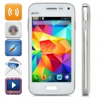 "Im Mini G9600 Android 4.4 WCDMA Bar Phone w/ 3.97"" Screen, Wi-Fi, Bluetooth - White"