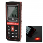 "RZD-100 1.9"" Digital Laser Distance Meter / Area / Volume Measuring Range Finder - Black"