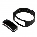 Aoluguya S9 Waterproof Smart Bluetooth Bracelet w/ OLED, Remote Taking Photo, Sports Monitor - Black