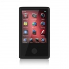 "HOTT MU1037 2.4"" Touch Screen Bluetooth MP4 w / TF Card Slot / Radio - Black"