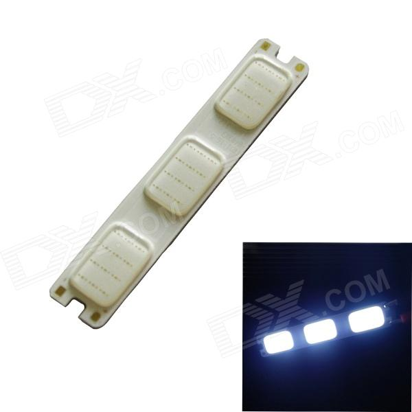 2W 120lm 465nm 36-COB LED Blue Light Module - White + Silver (DC 12V)