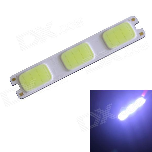 2W 120lm 10000K 36-COB LED Cool White Light Module - Silver + Yellow (DC 12V)