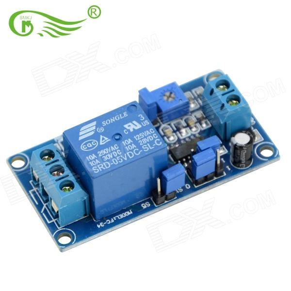 SMKJ 190201 5V Power Delay Module - Deep Blue dc 12v led display digital delay timer control switch module plc automation new