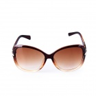 SYS0047 Women's PC Frame Resin Lens UV400 Protection Sunglasses - Brown
