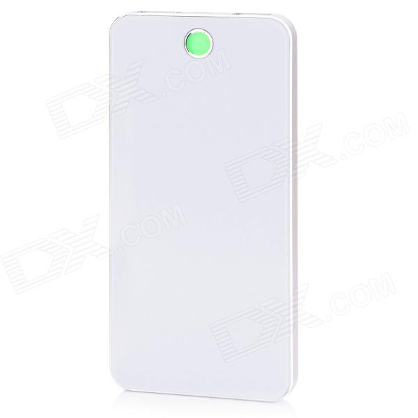 BP-6L 8000mAh Dual-USB Li-polymer Battery Mobile Power Source Bank for IPHONE / Samsung / HTC bp 15000mah dual usb mobile power source bank for iphone 5s samsung htc white green