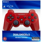 Genuine Sony PlayStation 3 Dualshock 3 Wireless Controller - Red