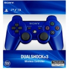 Genuine Sony PlayStation 3 Dualshock 3 Wireless Controller - Blue