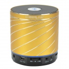 CHEERLINK SDH-801 HiFi Stereo Blurtooth V2.1 + EDR Speaker w/ Handsfree / FM / AUX / TF - Golden