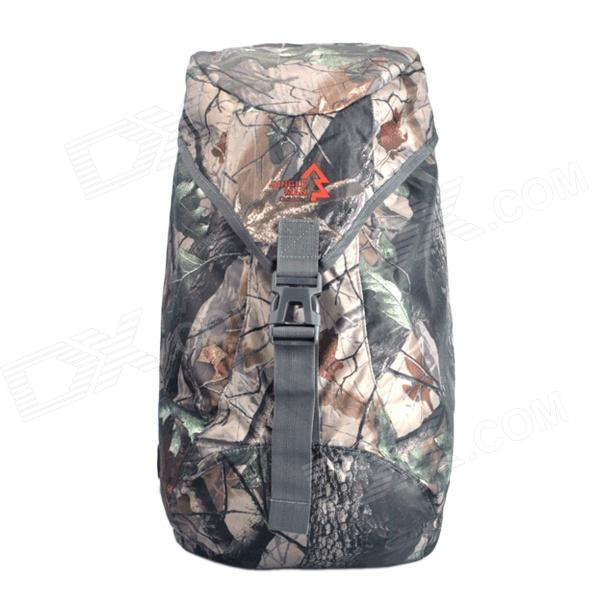 JUNGLEMAN T268 Lightweight Outdoor Hunting Fishing Shoulders Bag Backpack - Camouflage 47 folding fishing rod bag tactical duel rifle gun carry bag with shoulder strap outdoor fishing hunting gear accessory bag