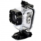 Genuine ISAW Waterproof Housing for Camera - Black + Transparent