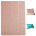 KALAIDENG Protective PU Leather Case Cover w/ Stand for Samsung Galaxy TAB S 10.5 T800 - Golden