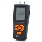 BENETECH GM520 Pressure Manometer - Orange + Black (6V / 4 x AAA)