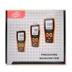 Manomètre de pression BENETECH GM520 - orange + noir (6V / 4 x aaa)