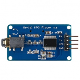 UART Control Serial MP3 Music Player Module for Arduino, AVR