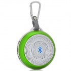 Power Blue BL-LY03 Outdoor Bluetooth V4.0 Speaker w/ Mic. / TF / Micro USB / 3.5mm - White + Green