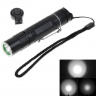 NEW-B10 700lm 5-Mode White Light Rechargeable Memory Flashlight w/ Cree XM-L2 T6 - Black (1 x 18650)