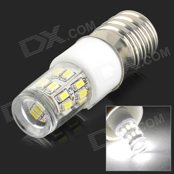 UItraFire E14 7W 280lm 9200K 27-SMD 3014 LED Cool White Crystal Lamp - White + Silvery Grey (AC220V)