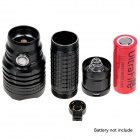 NEW-B11 900lm 5-Mode White Light Rechargeable Memory Flashlight w/ Cree XM-L2 T6 - Black (1 x 26650)