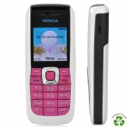 "Refurbished Nokia 2610 GSM Bar Phone w/ 1.5"" Screen, Dual-Band - White + Red Brown"