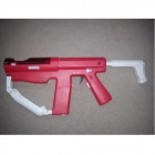 Genuine Sony PS3 Sharp Shooter Move Compatible - Red + White