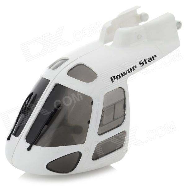 Wltoys V931-018 ABS Repairing R/C Helicopter Head Cover for V931 - White + Black wltoys v931 018 abs repairing r c helicopter head cover for v931 white black