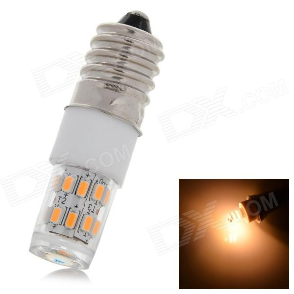 UItraFire 7W E14 280lm 4500K 27-3014 SMD Warm White Light - White + Silvery Grey (AC 220V)