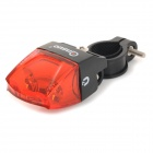 ANSUO AZ-200 Magnetic Induction Wheel Mounted 1-Mode Red Light LED Bike Bicycle Tail Warning Light
