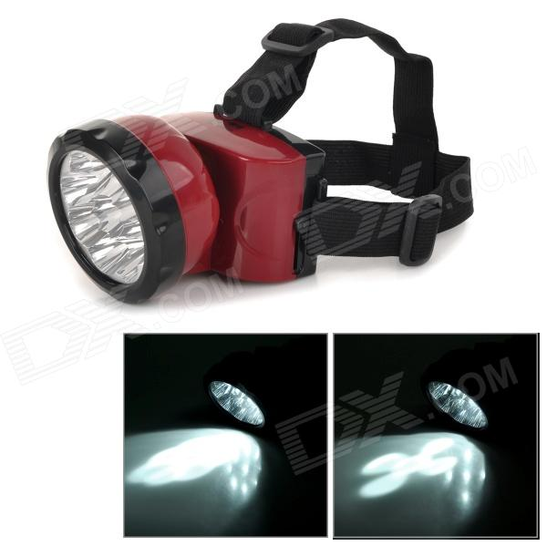 YX-5301 Rechargeable Outdoor Fishing 450lm Cool White Light LED Headlamp w/ Cree SST-50 T6 - Red