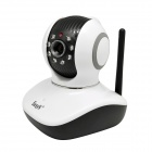 "EasyN V10D(P1) 1/4"" CMOS 1.0MP IP Camera w/ 8-IR-LED / Wi-Fi / IR-CUT / TF - White + Black (US Plug)"