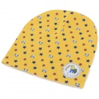 Fashionable Soft Cotton Hat for 0~3 Years Old Baby - Yellow + Multi-Color