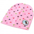 Fashionable Soft Cotton Hat for 0~3 Years Old Baby - Pink + Multi-Color