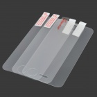 Protective Tempered Glass + Matte + Clear Screen Protector Set for IPHONE 4G / 4S - Transparent