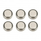 TangsFire A675 Nonchargable 1.4V Zinc-Air Cell Button Batteries - Silver (6 PCS)