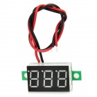 "DSN-DVML-368-2 Two Line 3-Digit 0.36"" LED DC Digital Voltmeter - Black + White"