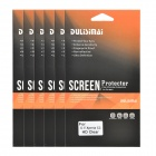 DULISIMAI Protective Clear PET Screen Protectors for Sony Xperia C3 - Transparent (6 PCS)