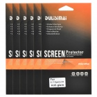 DULISIMAI Protective Matte PET Screen Protectors for Sony Xperia - Transparent (6 PCS)