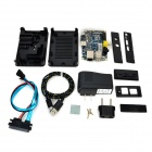Fine Source BP 6-in-1 Banana Pi Mainboard + CPU Heatsink + ABS Black Case Kit Set - Deep Blue