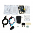 Fein Quelle BP 6-in-1-Mainboard + Banana Pi CPU-Kühlkörper + ABS weiß Fall Kit Set - Deep Blue