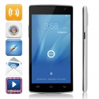 "DOOGEE KISSME DG580 Quad-Core Android 4.4 WCDMA Bar Phone w/ 5.5"" OGS, 8GB, GPS, Hotknot"