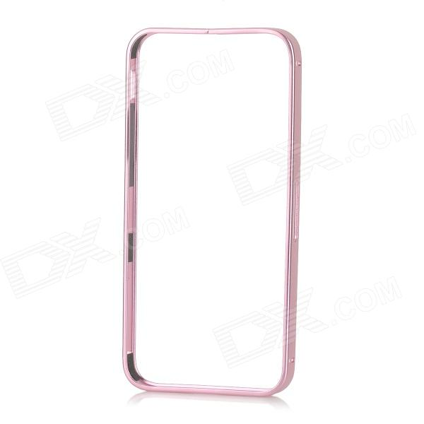 Protective Detachable 0.7mm Ultra-thin Aluminum Bumper Case for IPHONE 5S / 5C / 5 - Pink ipega i5056 waterproof protective case for iphone 5 5s 5c pink