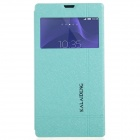 KALAIDENG Protective PU Leather Case Cover Stand for Sony Xperia T3 - Blue