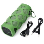 VINA MS-319 Outdoor portátil sem fio Bluetooth 4.0 NFC Mini Speaker para iPhone + Mais - Verde