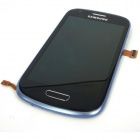 Samsung Galaxy S3 Mini Replacement Original LCD Touch Screen - Blue
