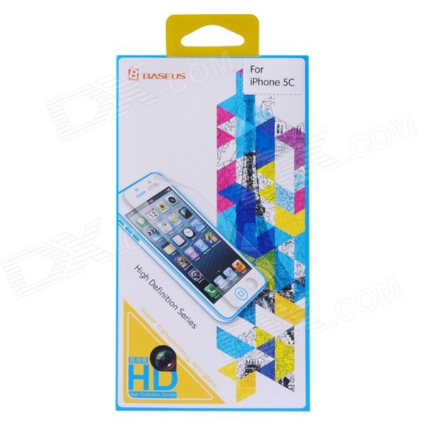 Baseus SGAPIHMINI-HD Protective PVC Screen Protector for IPHONE 5 / 5S / 5C - Transparent